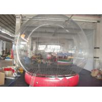 Best Changeable Color Inflatable Snow Globe Transparent Appearance CE Approved wholesale