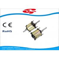 Best High Voltage Dual Shaft Permanent Magnet DC Motor Used For Massager wholesale