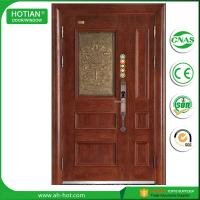 Best China top suppliers house residential steel security door single door for hotel main entrance wholesale