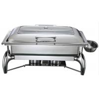Best Stainless Steel 201/304 9 Liter Chafing Dish Food Warmer 1803F wholesale