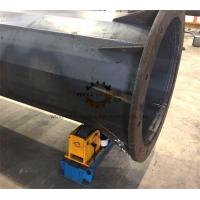 Quality 3ton Designed Tank Turning Rolls Rotator For Octagonal Utility Pole and Flange Welding wholesale