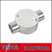 China Outside Through Way Threaded Rigid Conduit Box BS4568 / BS31 , 20mm / 25mm on sale