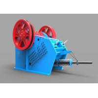 Best Heavy Duty Toggle Plate Jaw Crusher V Series Gabbros Hydraulic Crushing Machine wholesale