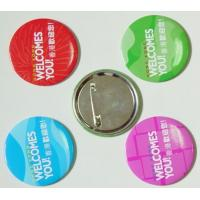 Best Tinplate button badge Custom badge , tin button badge with safety pin wholesale