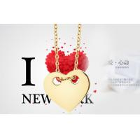 China Heart Pendant Necklace Fashion Jewelry for Women Stainless Steel Necklace on sale