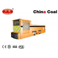 China Stringing Electric Locomotive Mining Equipment 10t Variable Speed AC Overhead Line Mine Locomotives on sale