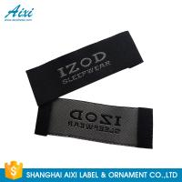 Best Satin Silk Printing Garment Clothing Label Tags Woven Customize Design wholesale