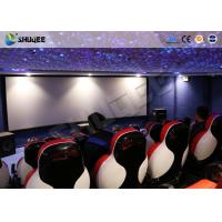 Cheap 3D Glasses 5D Movie Ticket 5D Movie Theater With 5D Motion Ride / Control System for sale