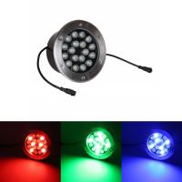 Best Round Glass LED Underground Light , LED Underground Lamp Parks Decoration wholesale