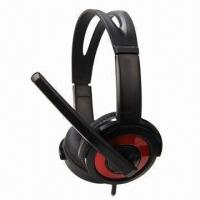 Best Multimedia Stereo Headphones with 40mm Driver Unit wholesale