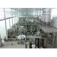 Best Automatic  Soft Drinks Production Line With 3000L / H Caraboneted drinks Mixer wholesale