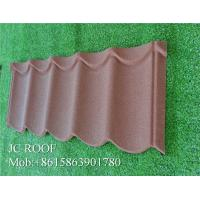 Best Factory supply low price wind resistance stone coated metal roofing tile step tile with 50 year warranty for sale wholesale