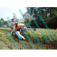 Best 4l-0.7 mini grain harvester, paddy combine harvester with Tyre wheel wholesale