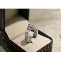 Best N4225200 VS Diamond Panthere Cartier Ring With Emeralds Onyx wholesale