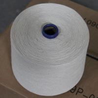 China OCS Certified 55% Hemp Yarn 45% Organic Cotton Blend Thread 16Ne for Weaving / Knitting on sale