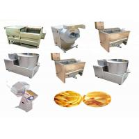 Buy cheap Vegetable Processing French Fries Machine Electric Potato Fryer High Efficiency from wholesalers
