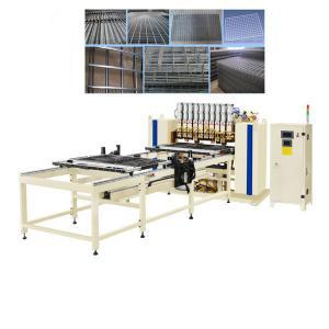 Best Vertical Wire Mesh Welding Machine , Condenser Welding Machine 1 Year Warranty wholesale