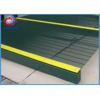 Best Anti Cut Pvc Coated Welded Wire Fencing / 358 Security Mesh Square Post Type wholesale