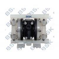 Cheap Engineer Double Plastic Diaphragm Pump Air Driven Rubber / Teflon Diaphragm Pumps for sale