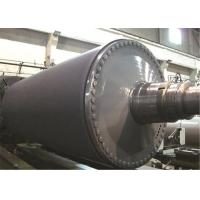 Best Rubber Cover Paper Making Machine Parts Suction Press Roll 400 - 1650mm Diameter wholesale
