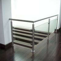 Best Indoor Stainless Steel Tempered Glass Railings Handrail Philippines wholesale