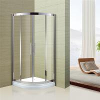 Best Australian Standard Tempered Glass Sliding Door Glass Shower Enclosure with Stainless Steel Frame wholesale
