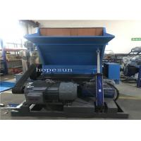 Best PP PE Recycling Crusher Machine  Unique Cooling Water Circulation System 600 Kg Per Hour wholesale