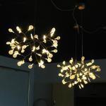 Best Creative art beaded acrylic lighting chandelier modern european for household wholesale