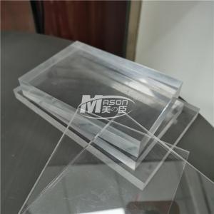 Best 100% Virgin PMMA 4mm Clear CastFireproof Acrylic Sheet 4ft X 8ft wholesale