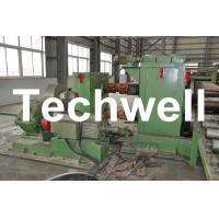 Best Horizontal Steel Cut To Length Machine Line To Cut Carbon Steel / Stainless Steel Coils wholesale