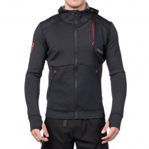 China Black Watersports Wetsuits  Neoprene Mens Hoodie Jacket OEM Service on sale