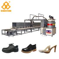 Best PU Footwear Pouring Foam Polyurethane Injection Machine 300-400 Pairs Per Hour wholesale