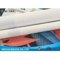 Cheap Wide Format Digital Inkjet Cotton Canvas 320gsm / Printable Canvas Roll for sale
