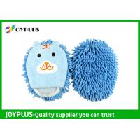 Best Cute Car Cleaning Mitt Colorful , Microfiber Dusting Mitt Super Soft AD0185 wholesale