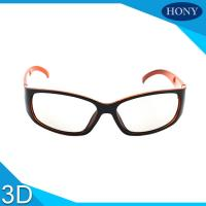 China Passive Plastic 3D Anti Scratch Circular Polarized Glasses Hard Coating Frame on sale