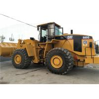 Best Caterpillar 980G Second Hand Wheel Loaders Front 5.5cbm Bucket Capacity wholesale
