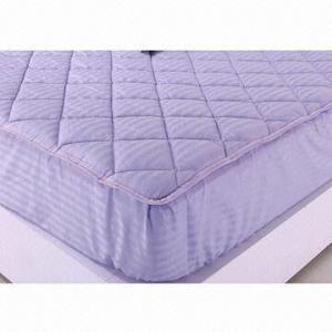 Best Cotton mattress pad, polyester fiber filling middle wholesale