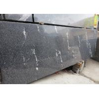 Best Snow Grey Granite Slabs Polished , Granite Half Slabs For Exterior Wall Cladding wholesale