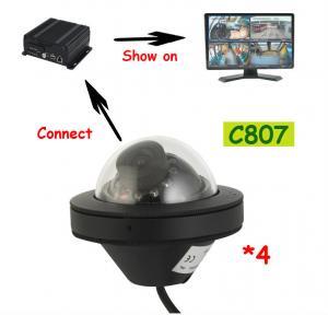 Buy cheap Recoda C807 1080P AHD Mini Dome IP68 Truck Reversing Camera weatherproof with fixed lens from wholesalers