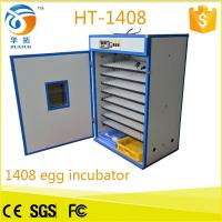 Best 1500 eggs wholesale price automatic egg incubator turnin for sale (CE Approved) HT-1408 hot in Italy wholesale