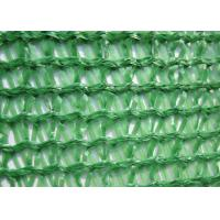 Best Three Needle Plastic Wire Mesh , Knitted Sun Shade Net HDPE For Greenhouse wholesale