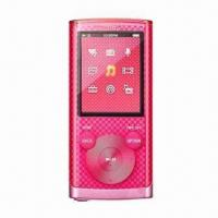 China Credit Card MP3 Player with Rechargeable Lithium Battery through USB on sale