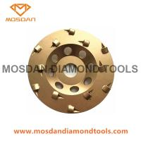 Best 7 Inch Double Rows PCD Cup Grinding Wheel with M14 Thread wholesale