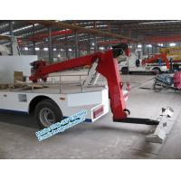 Cheap Hydraulic oil system controlled DFAC 4x2 white color 5 ton tow truck wrecker for for sale