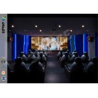 Best Commercial Park 5D Movie Theater With Portable Cabin / 3D Glasses wholesale