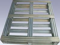 Best Industrial Returnable Storage Galvanized Steel Pallets Single Face Or Double Face wholesale