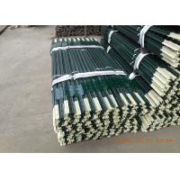 Best Heavy Duty Green Metal T Post / Farm Fence Posts Bituminous Painted Surface wholesale