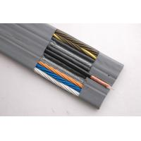 Best Flat Flexible Traveling Elevator Cable with TV Camera Cable in Grey Color wholesale