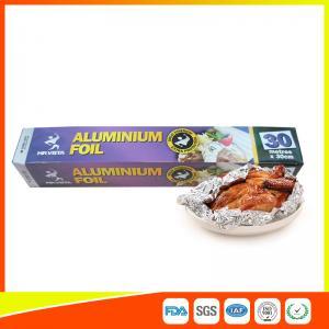 Best Disposable Food Grade Aluminum Foil Sheets Oil Resistant , Aluminium Sheet Roll wholesale