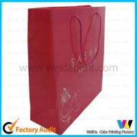China China high quality customized paper shopping bag with handle on sale